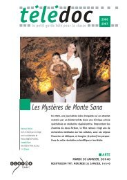 Les Mystères de Monte Sana - CNDP