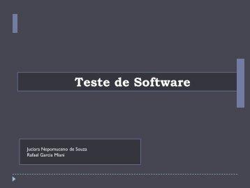 Estratégias de Testes de Software