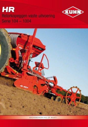 KUHN HR 3004 - 3504 - Reesink Technische Handel B.V.