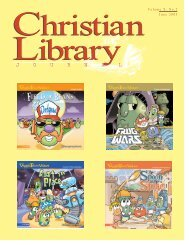 Book Lists, Part 2 - Christian Library Journal