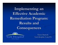 Implementing an Effective Academic Remediation Program: Results ...