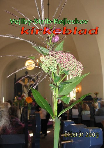 Efterår 2009 - Vejlby-Strib-Røjleskov pastorat
