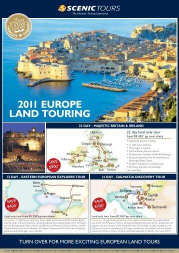 2011 EUROPE LAND TOURING