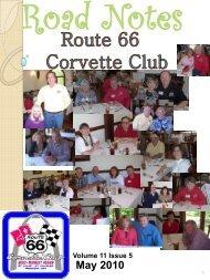 May 2010 - Route 66 Corvette Club