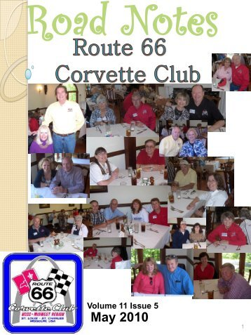 May 2010 - Route 66 Corvette Club