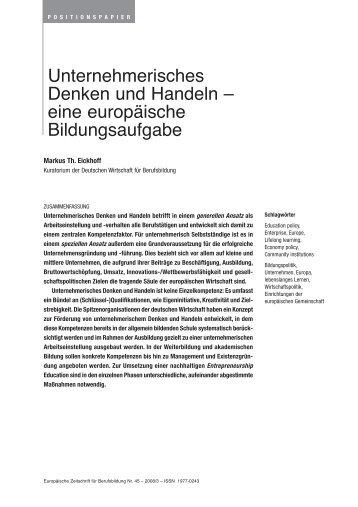 Verantwortungsvolles unternehmerisches Handeln - Bibliothek der ...