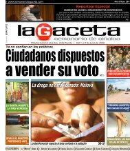 La droga no está liberada: Malova - SEMANARIO LA GACETA