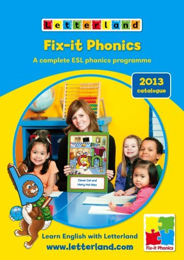 2013 Fix-it Phonics Catalogue - Letterland