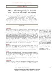 Whole-Genome Sequencing in a Patient with Charcot–Marie–Tooth ...