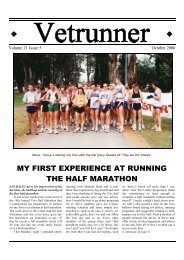 my first experience at running the half marathon - ACT Veterans ...