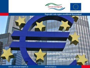 Evropa 2020 - Regionální rada regionu soudržnosti Severozápad