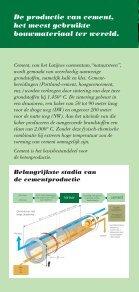 De bijdrage van de cementindustrie tot de beperking ... - Febelcem - Page 2