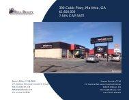 390 Cobb Pkwy, Marietta, GA $1,600,000 7.54% CAP ... - Bull Realty