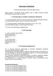 Társasági szerződés (2013. január, PDF) - atlatszo.hu