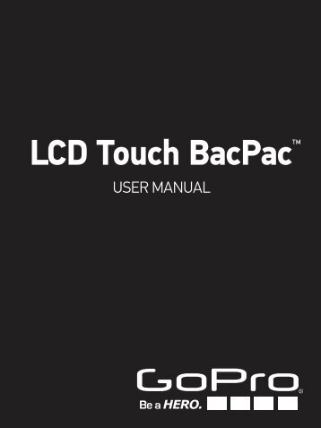 LCD Touch BacPac™