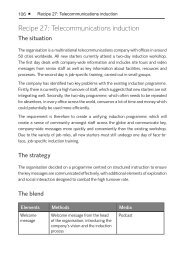 Recipe 27: Telecommunications induction - Saffron Interactive