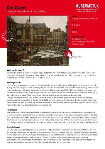 De Dam - Amsterdam Museum