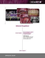 System für die minimalinvasive,CT-geführte Operation - BIOMET 3i ...