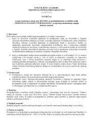 Natječaj za upis studenata u akad. god. 2012/2013. na ...