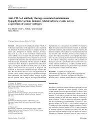 Anti-CTLA-4 antibody therapy associated autoimmune hypophysitis ...