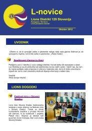 L-novice, oktober 2012 - Lions Distrikt 129