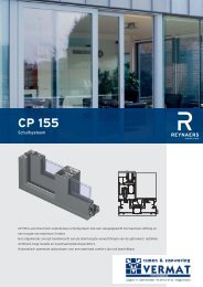 CP 155 - VERMAT ramen & zonwering
