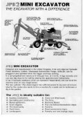 JPB_Excavator_Brochu.. - Diggers-dumpers-plant.co.uk - Page 2