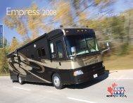 Empress 2008 - Triple E Recreational Vehicles