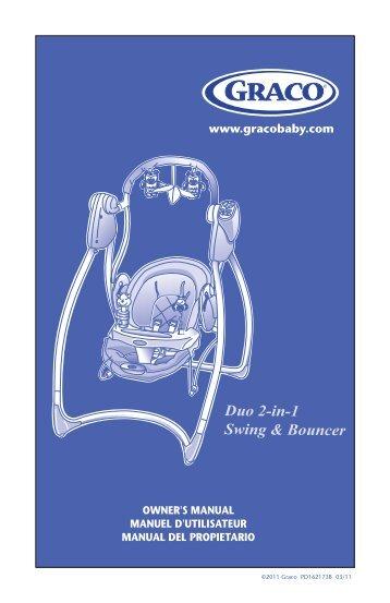 Duo 2-in-1 Swing & Bouncer - Graco