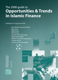 Opportunities & Trends in Islamic Finance - Euromoney