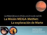 La Misión MEIGA-MetNet: La exploración de Marte