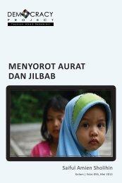 MENYOROT AURAT DAN JILBAB - Democracy Project
