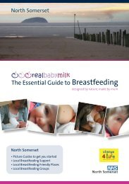 The Essential Guide to Breastfeeding - NHS North Somerset
