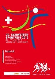 Stimmen - Sport Union Schweiz