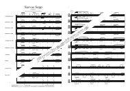 Servus Sepp-2011-Partitur Score