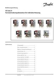 VX Solo II Fernwärmekompaktstation für indirekte Heizung