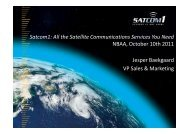 Satcom1: All the Satellite Communications Services You Need - NBAA