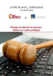 Livre blanc juridique - Olfeo