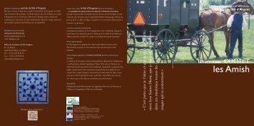 les Amish - le site du Val d'Argent