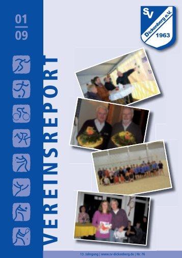 Tischtennis - SV Dickenberg