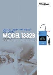 DIGITAL VIBRATION METER DIGI-VIBRO - Xebex.jp