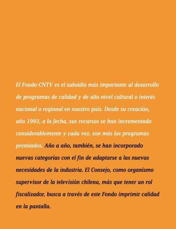El Fondo-CNTV es el subsidio más importante al ... - Altavoz