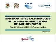 Programa Integral Hidráulico de la Zona Metropolitana de San Luis ...