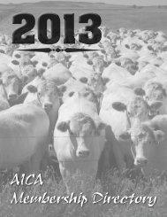 AICA - American International Charolais Association