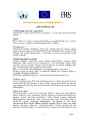 www.pediatric-rheumathology.printo.it 12/2003 1 AĞRI ...