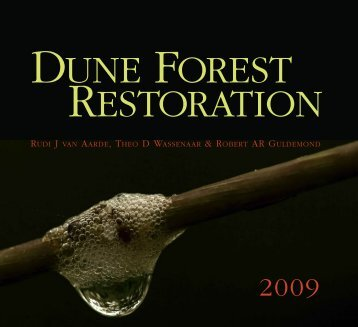 Dune forest restoration - CERU