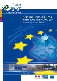 Plaquette sur le bilan définitif du programme Objectif 2 en région ...