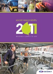 Social Responsibility - Building a future to last (4.00 ... - Northern Rail