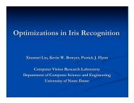Optimizations in Iris Recognition