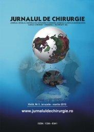 Full text PDF (5 MB) - Jurnalul de Chirurgie